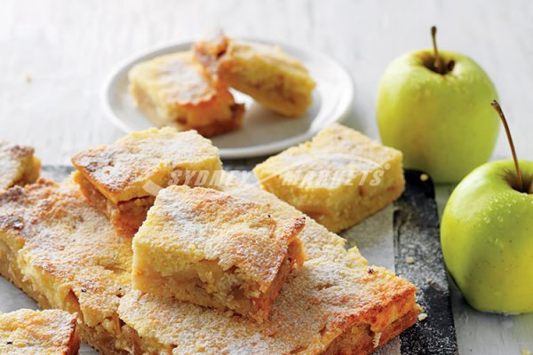 APPLE & COCONUT SLICE