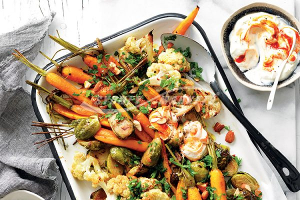 HONEY-SPICED ROASTED VEGGIES