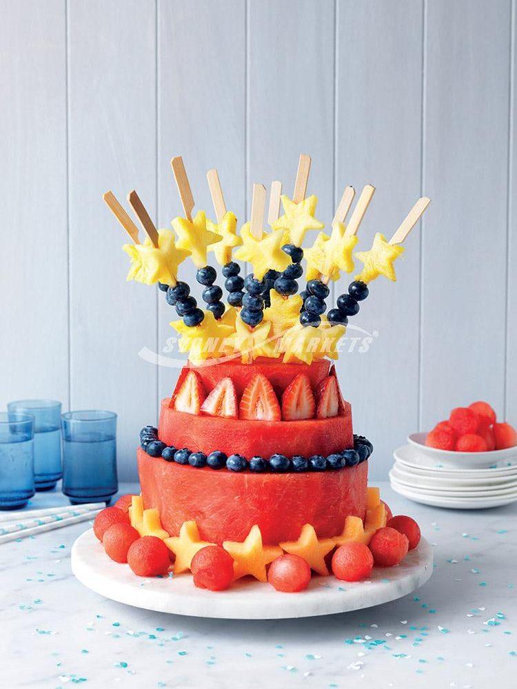 FRESH WATERMELON 'CAKE'