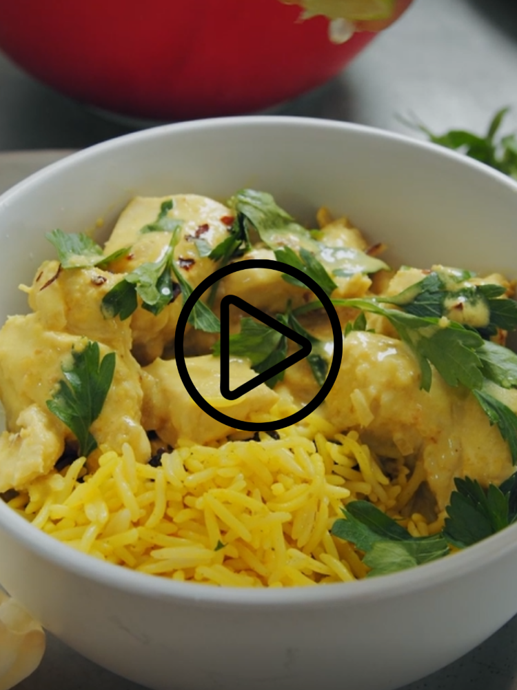 Peanut Butter Chicken with Fragrant Pilau Rice